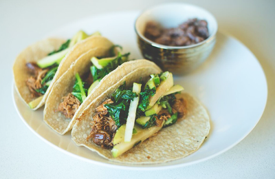 Fall Barbecue Tacos