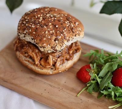 Maple BBQ Chicken Sandwiches