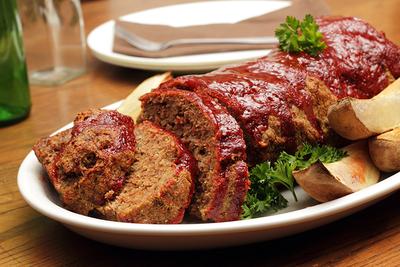 Oven BBQ Meatloaf