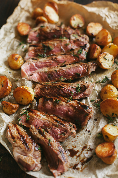 Rosy Gingered Roast Beef
