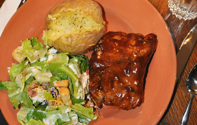 Easy Slow Cooker Smoky BBQ Ribs