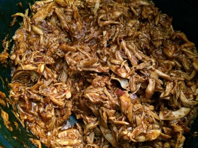 Slow Cooker Bacon BBQ Chicken