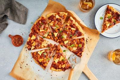 Aloha BBQ Chicken & Bacon Pizza