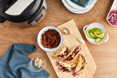 Kansas City Style Short Rib Tacos (Electric Pressure Cooker or Instant Pot)