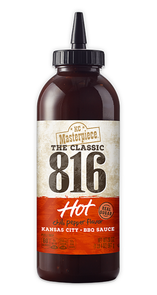 816 HOT BARBECUE SAUCE